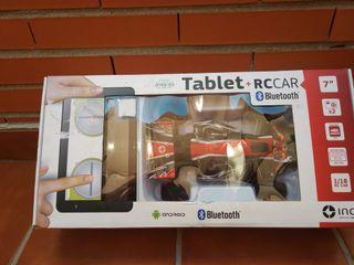 coche radiocontrol + tablet