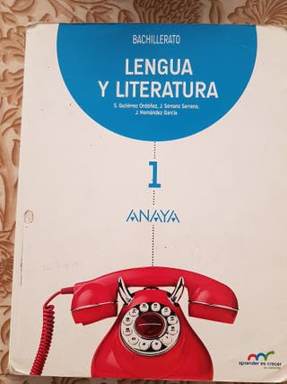 Lengua y Literatura de 1º de bachillerato