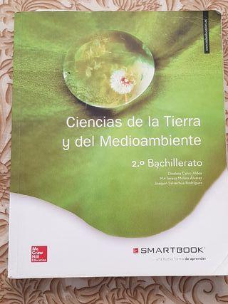 libro Ciencias de la Tierra y Medio Ambiente 2 ba