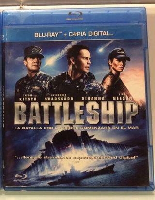 Película BATTLESHIP Blu ray