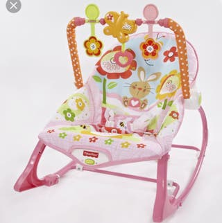 Hamaca fisher price color rosa