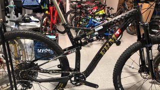 mountain bike suspension carbono