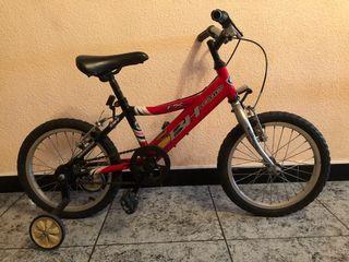 Bicicleta Bh mod California con ruedines