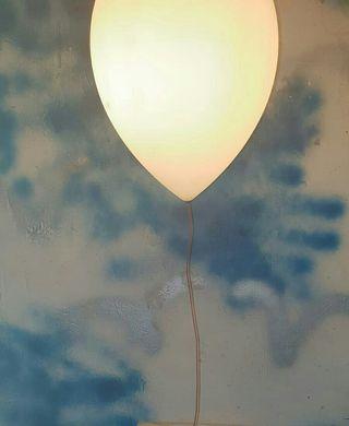 lampara de globo