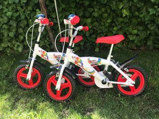 SIN USO Dos bicicletas niño o niña marca TOIM
