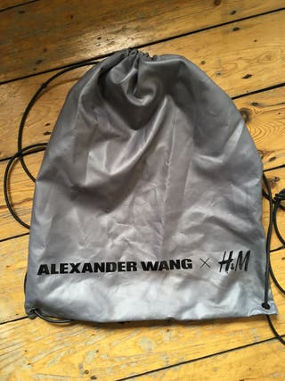 Alexander Wang x H&M gym bag
