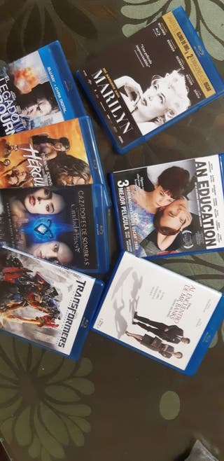 blu-ray películas