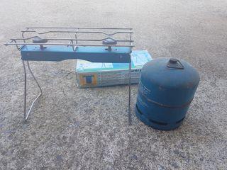 hornillo de dos fuegos gas