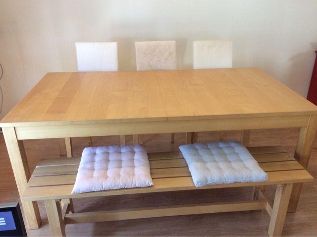 Mesa comedor Ikea extensible de segunda mano por 100 € en Sant Feliu ...