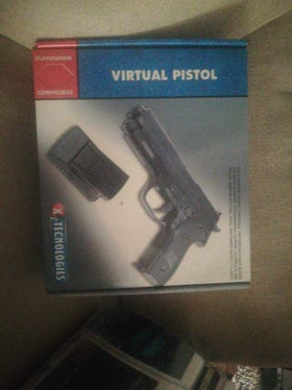 pistola con pedal para Play Station