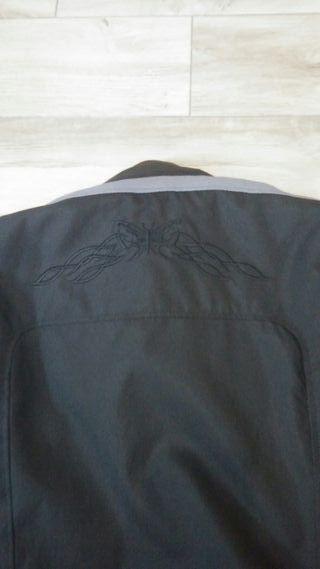 chaqueta de chica moto