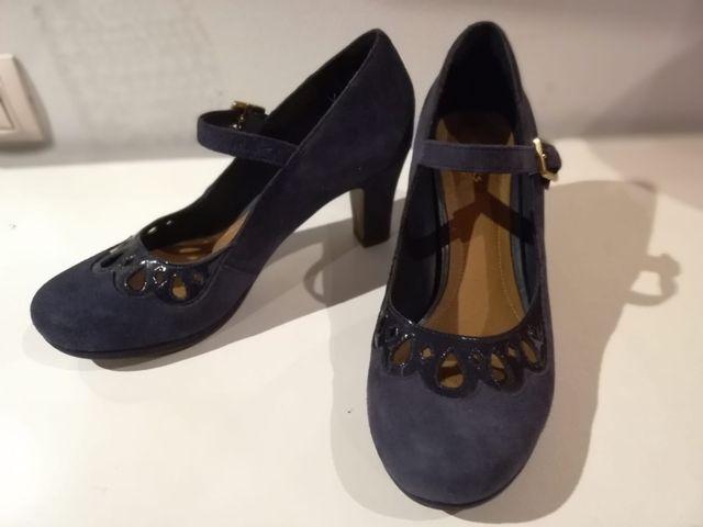 314b711960 Zapatos mujer clarks 38 de segunda mano por 35 € en Móstoles en WALLAPOP
