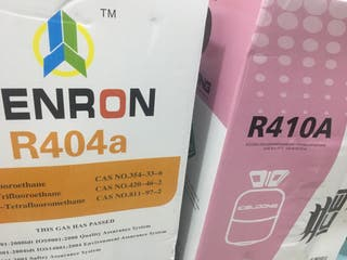 Gas refrigerante R410, R134, 404, 407c, 507 etc