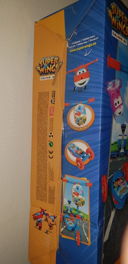 Patinete Super wings