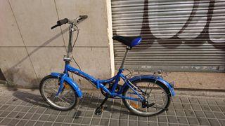 Bicicleta plegable sin cambio de marcha en venta