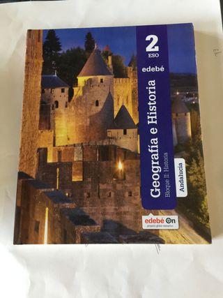 Libros de texto 2º ESO colegio Granada College