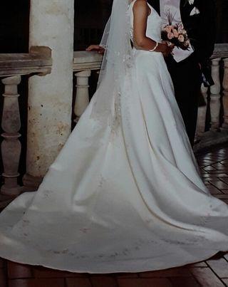 vestido boda de segunda mano en logroño en wallapop