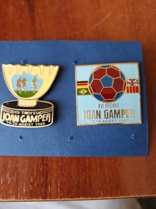 Pins del Barça trofeo Joan Gamper