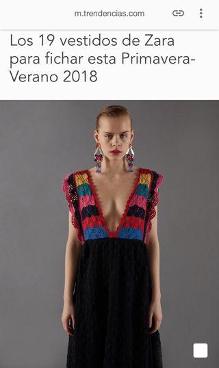 Vestido Zara T.M a ESTRENAR de segunda mano por 100 € en