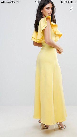 Imagenes de vestidos de fiesta amarillos