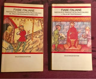 2 libros en italiano :Fiabe italiane