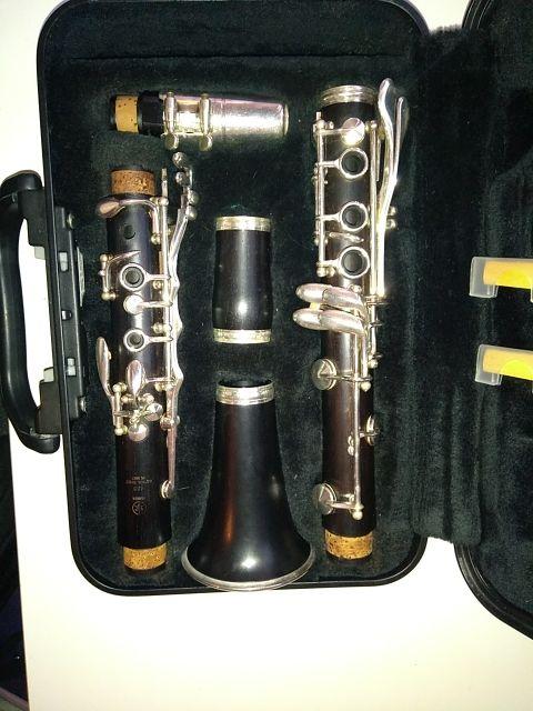 Clarinete Yamaha en si bemol.