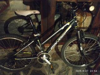 Bici btt, rueda 24