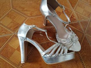 De Zapatos Tacon Segunda Lote Mano MujerTalla 10 41 Por Nuevos uZikPX