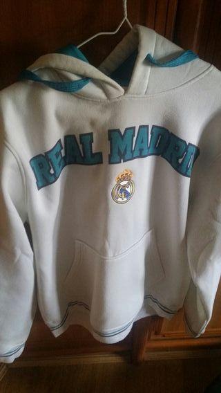 Sudadera Real Madrid de segunda mano en WALLAPOP 694ad54db8774