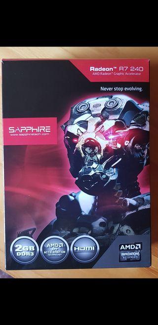 Tarjeta gráfica AMD Radeon R7 240
