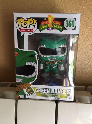 Funko pop Power Ranger verde