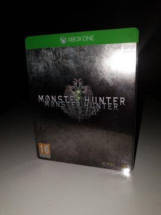 Monster hunter world Ed Deluxe. Xbox one