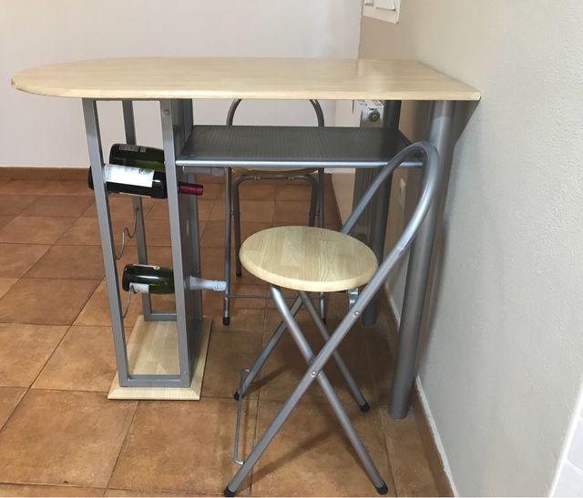 Mesa/barra cocina de segunda mano por 70 € en Elda en WALLAPOP