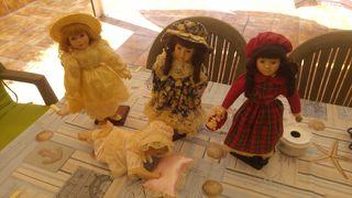 muñecas porcelanas en buen estado