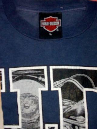 camiseta de Harley Davidson