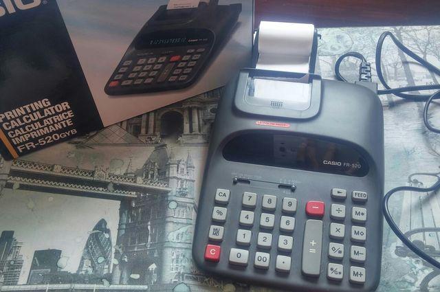 calculadora registradora ticket