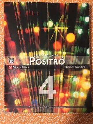 Llibre Física i Química 4 ESO