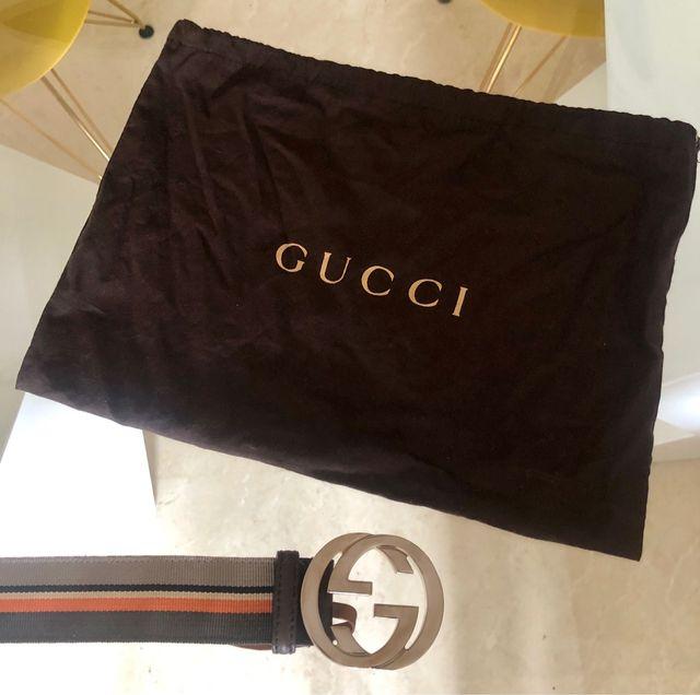 Cinturón Gucci original de segunda mano por 190 € en Madrid en WALLAPOP 4e0b7b6dcec