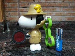 Llavero Snoopy detective