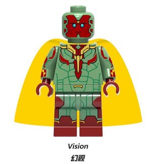Vision Infinity War Minifigures Lego Com