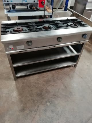 cocina hostelería mesa soporte plancha