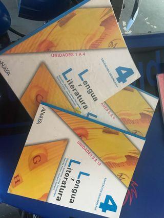 Libros texto 4 ESO