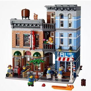 Bloques de construcción Barber y Detective