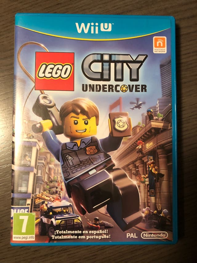 Juego Wii U Lego City Undercover De Segunda Mano Por 15 En