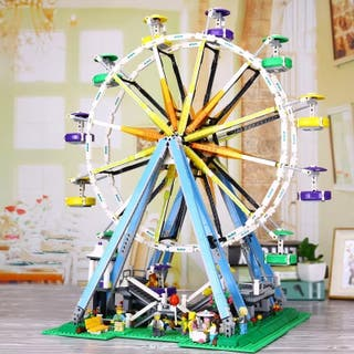 Noria bloques de construcción compatible Lego