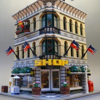 Centro comercial compatible Lego