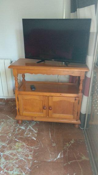 MUEBLE TV MADERA DE PINO PROVENZAL