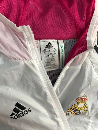 Chaqueta cortavientos Real Madrid 13-14 años