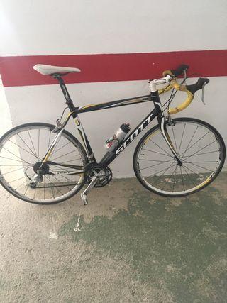 Bicicleta de carretera Scott talla 56