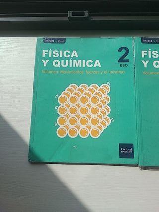 Libros de Física y Química 2°ESO Oxford